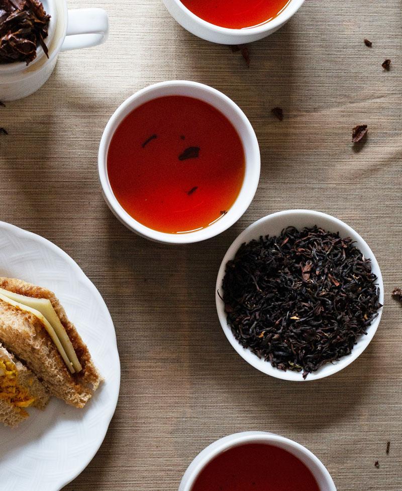 Tea food