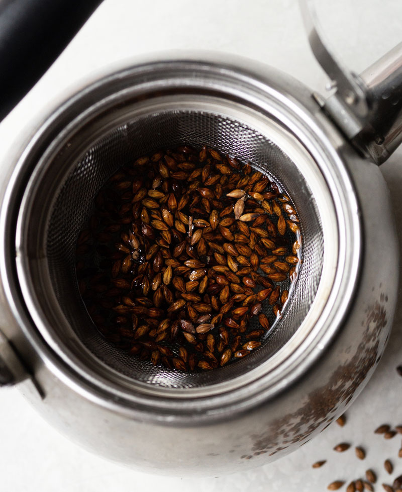 How to make barley tea