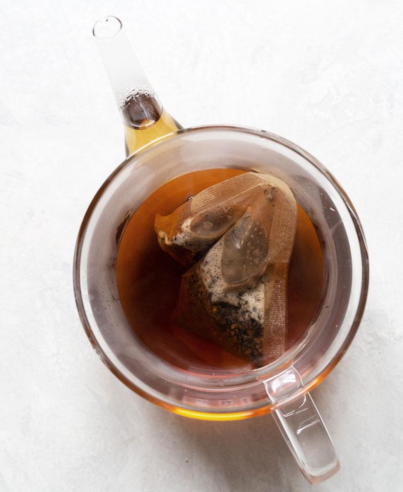 Hot barley tea