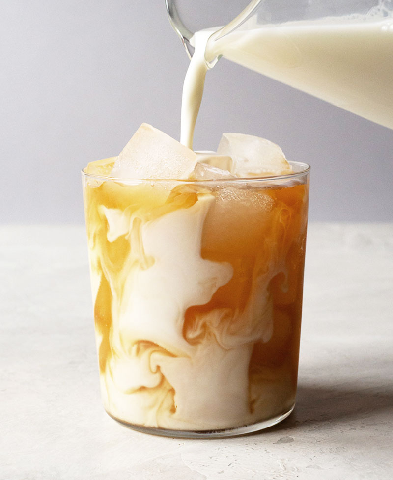 How to make an iced latte sweeter