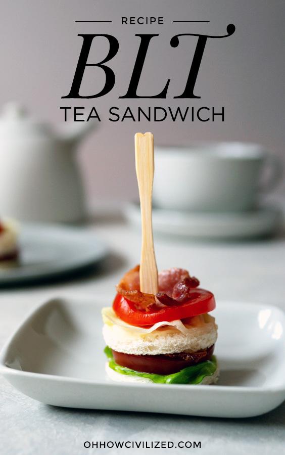 blt tea sandwiches