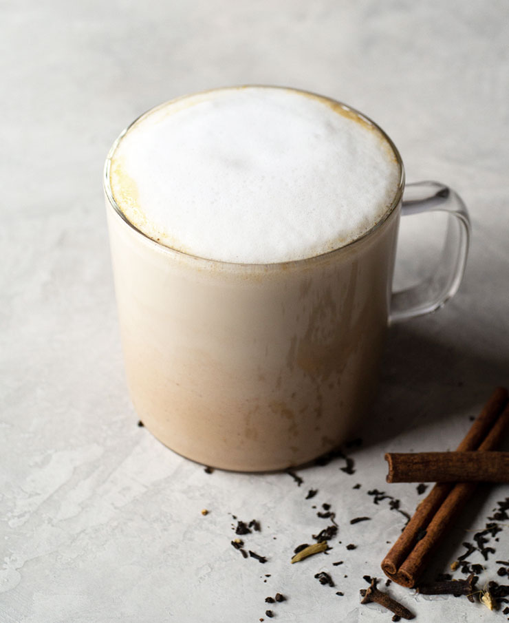Pumpkin spice chai latte recipe