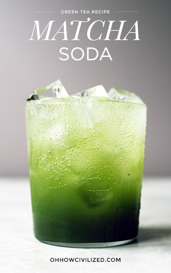 Matcha soda