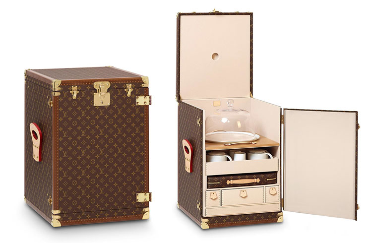 Louis Vuitton tea trunk