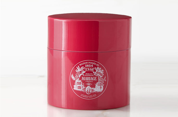 Mariage Freres red canister