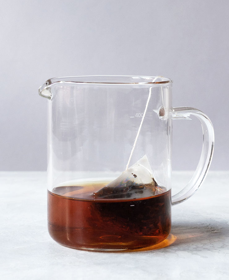 Earl Grey iced tea