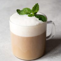 Chocolate Mint Tea Latte
