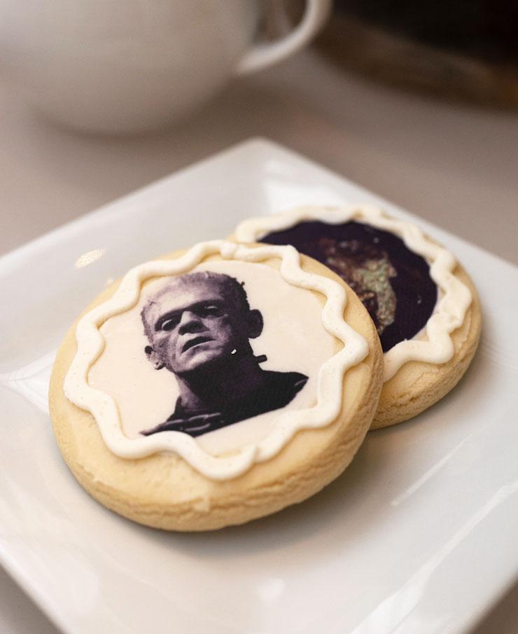 Morgan Cafe Frankenstein sweets