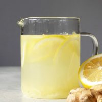 Quick and Easy Ginger Tea from Scratch