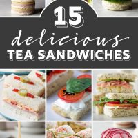 15 Delicious Tea Sandwiches Perfect for Tea Parties