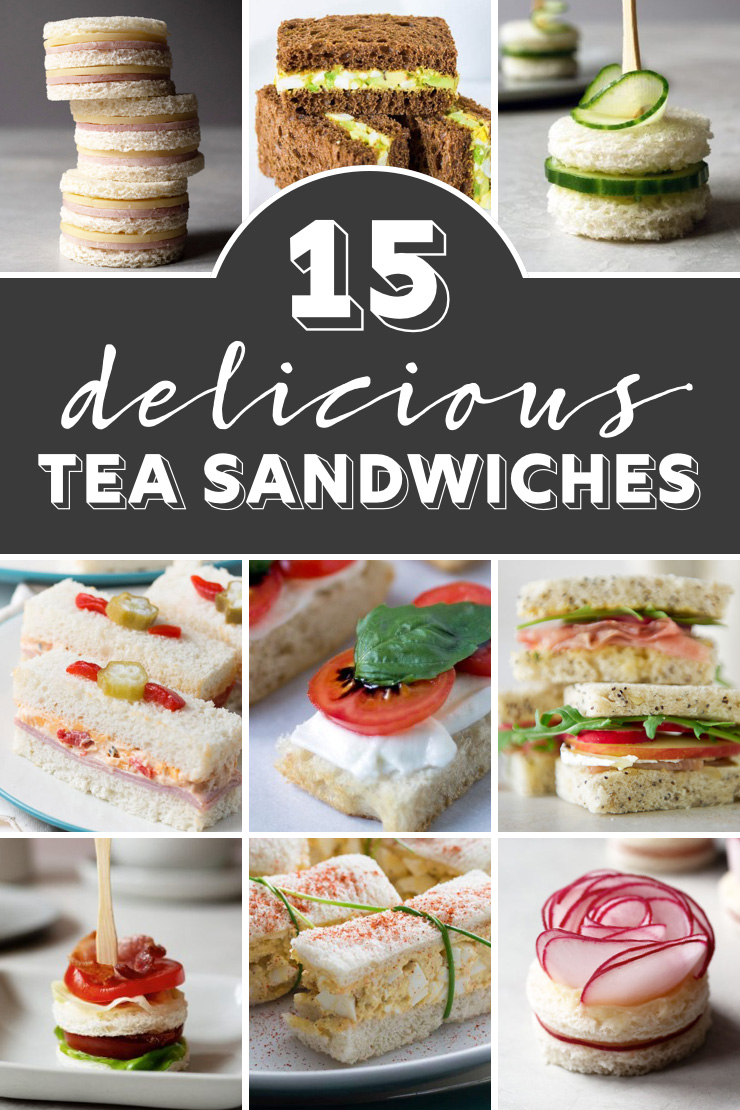 15 Delicious Tea Sandwiches Perfect For Tea Parties Oh How Civilized