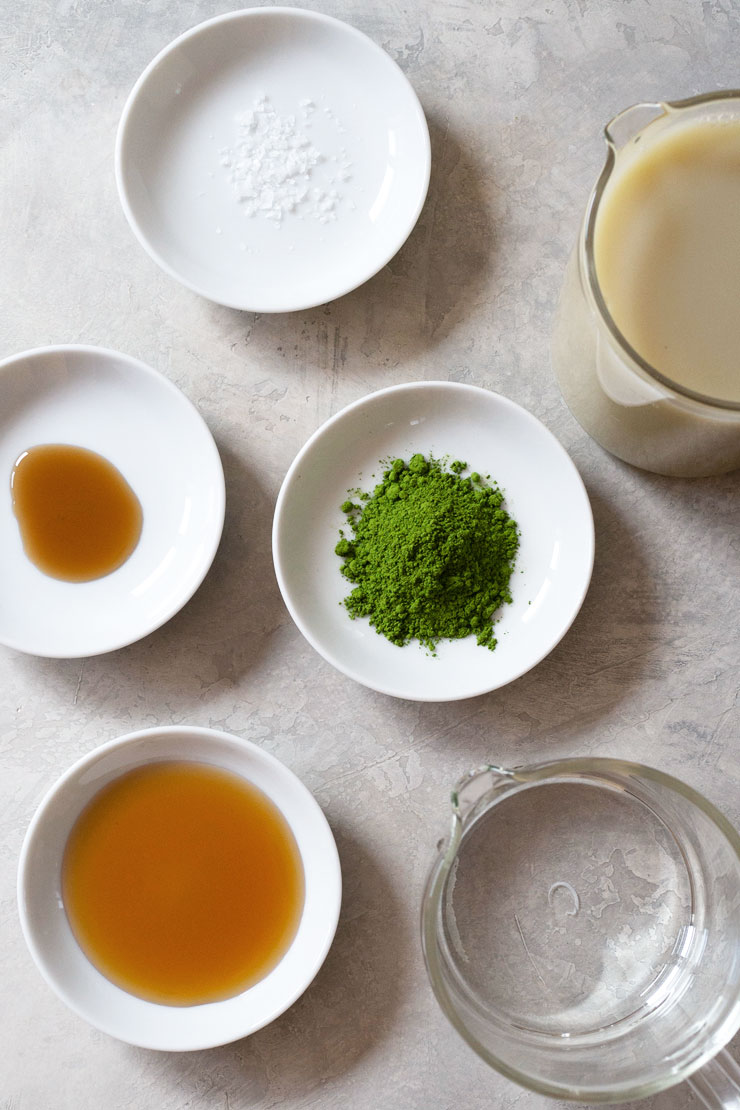 matcha milk ingredients