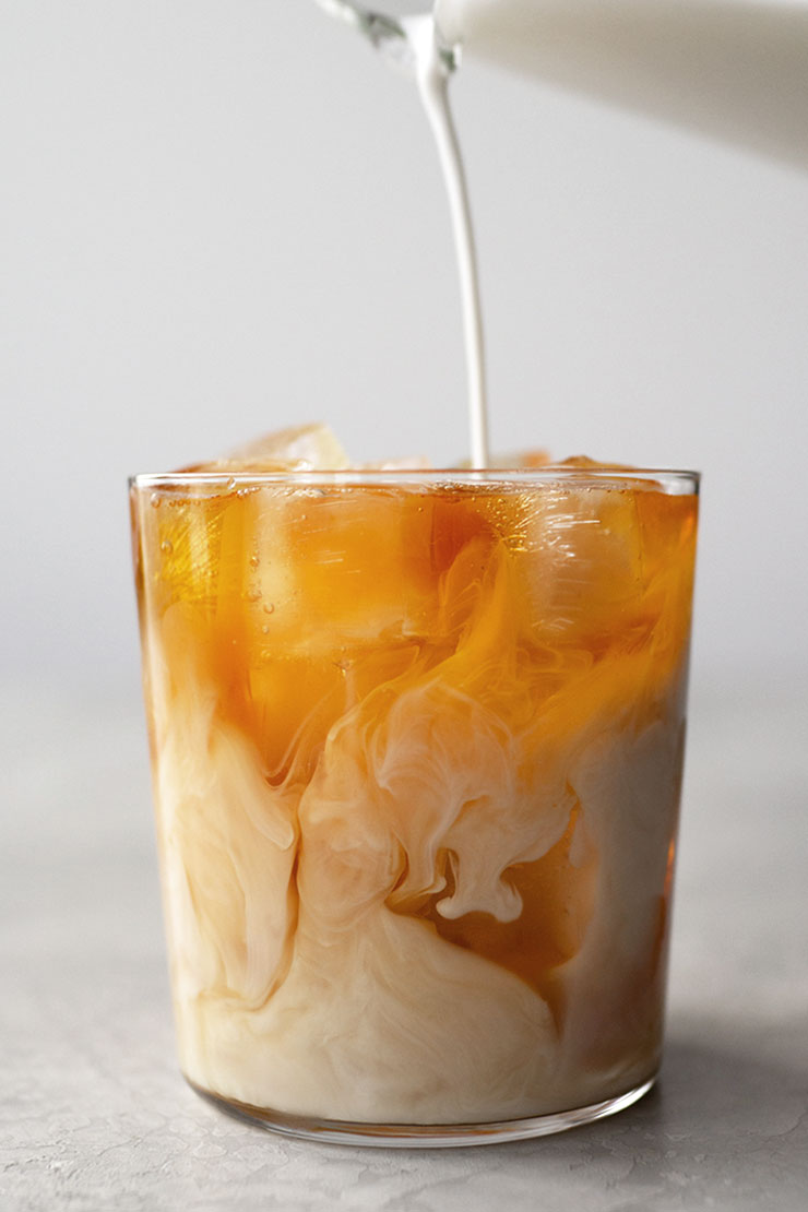 How to make iced milk tea