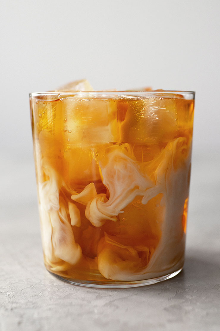 Iced milk tea recipe