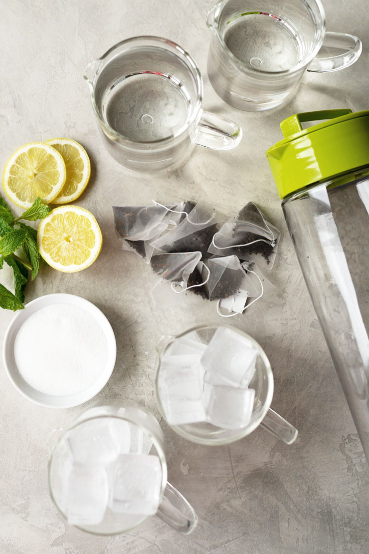 Iced tea recipe ingredients