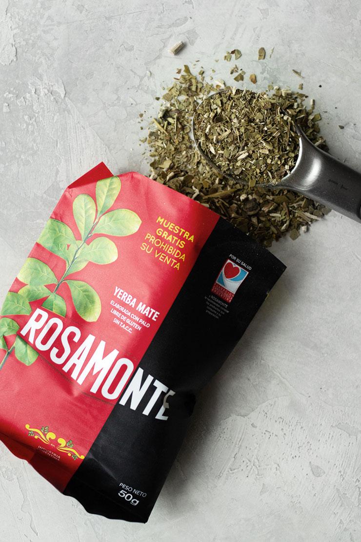 yerba mate in Rosamonte bag