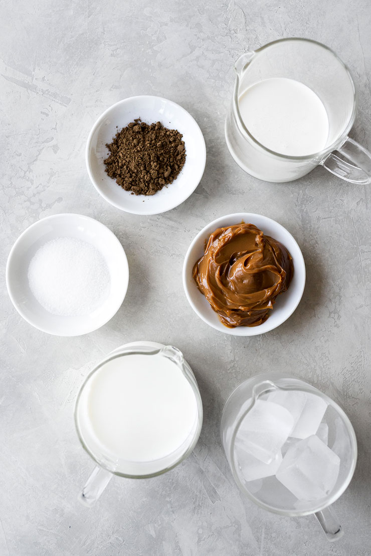 Hojicha frappuccino ingredients
