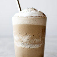 Hojicha Caramel Frappuccino