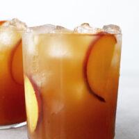 Peach Iced Tea from Scratch