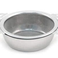 Stainless SteelTea Strainers with Drip Bowl