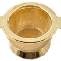 Golden Angel Tea Strainer