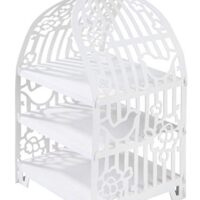 Talking Tables White Cake Stand Birdcage