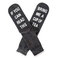 """""""Bring Me a Cup of Tea"""" Socks"""
