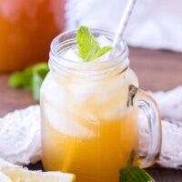 14/ Iced Peach Green Tea