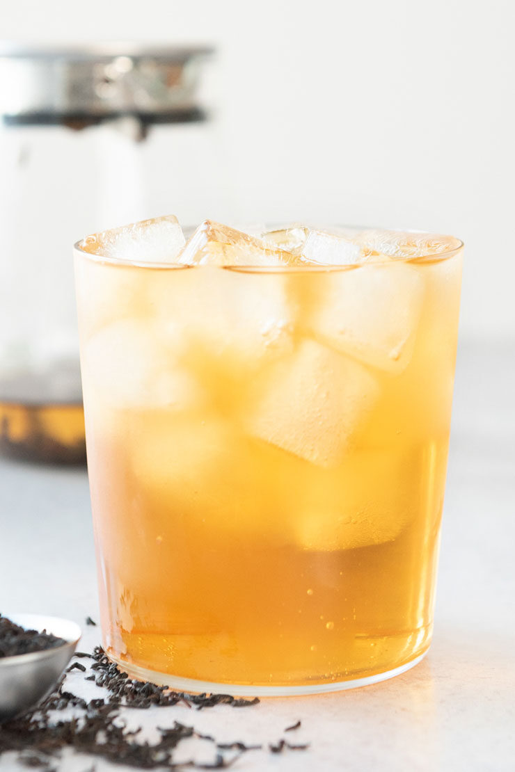 Iced Ceylon tea