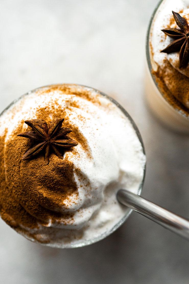 Easy Chai Frappuccinos.