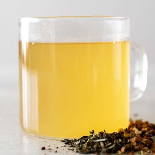 Medicine ball tea.