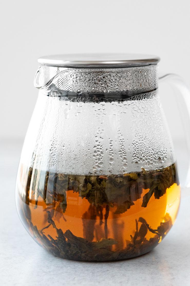 Hot Gunpowder Green Tea