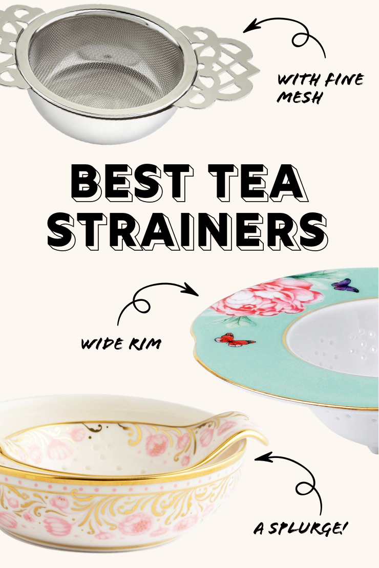 Best Tea Strainers | Oh, How Civilized