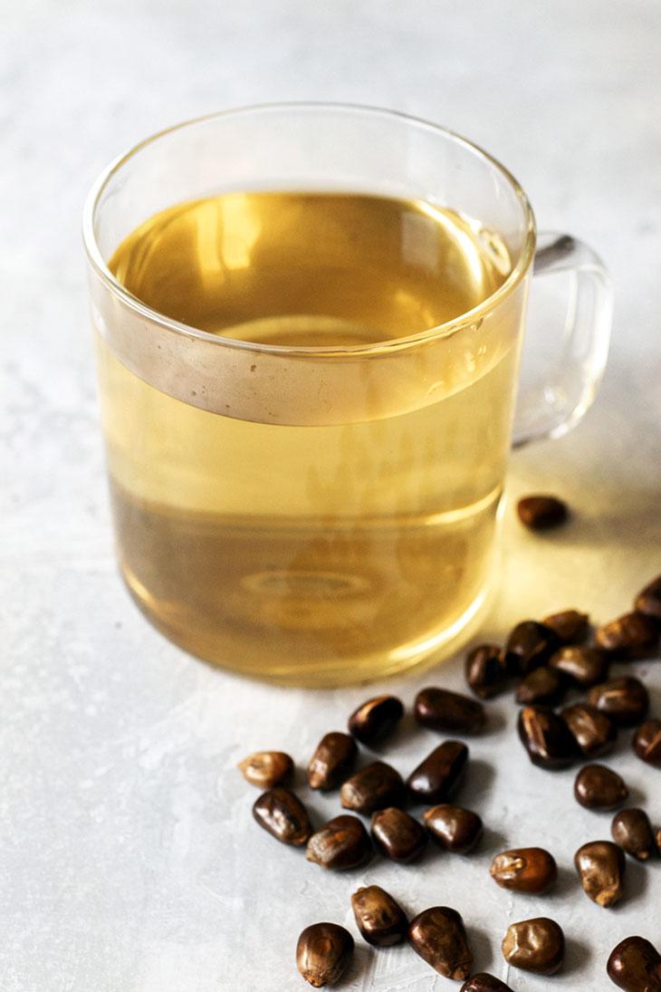 Roasted corn tea