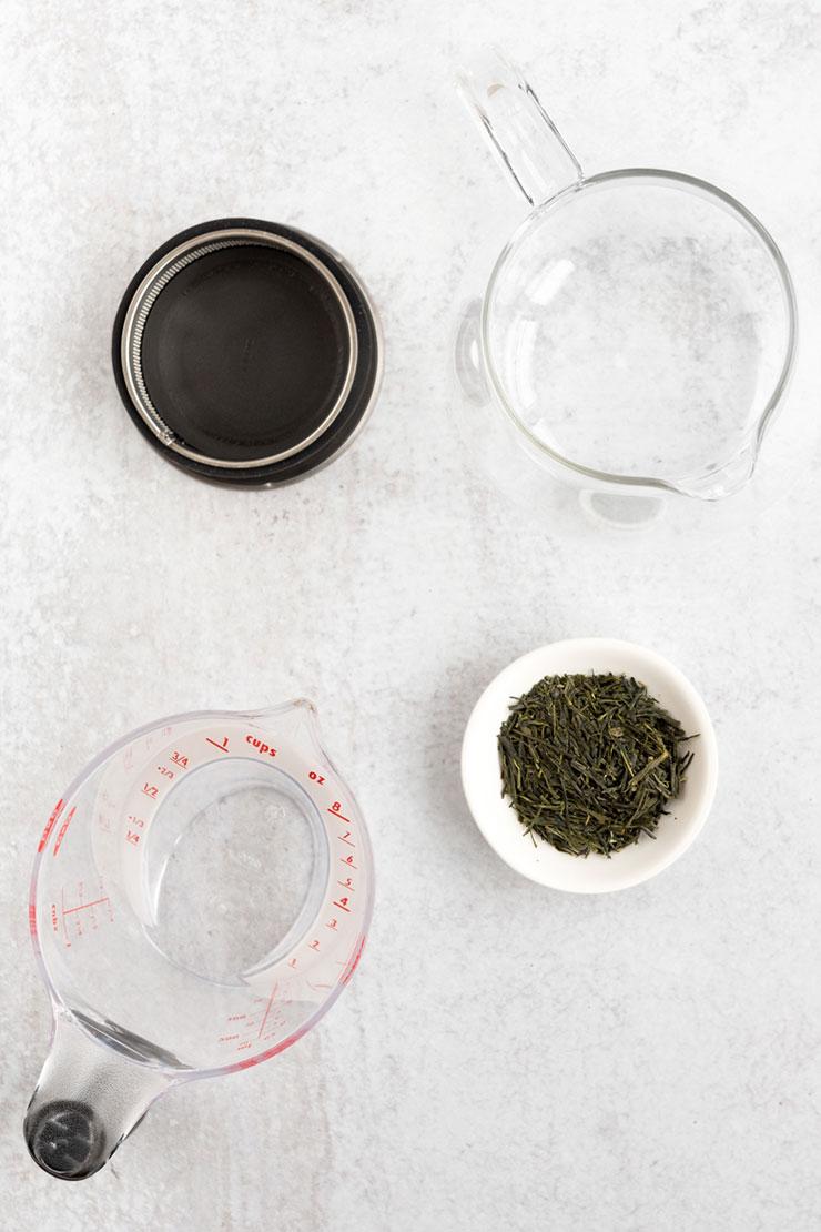 Sencha ingredients