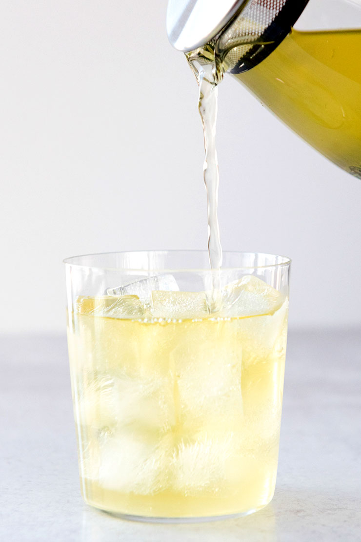 Iced Sencha Green Tea