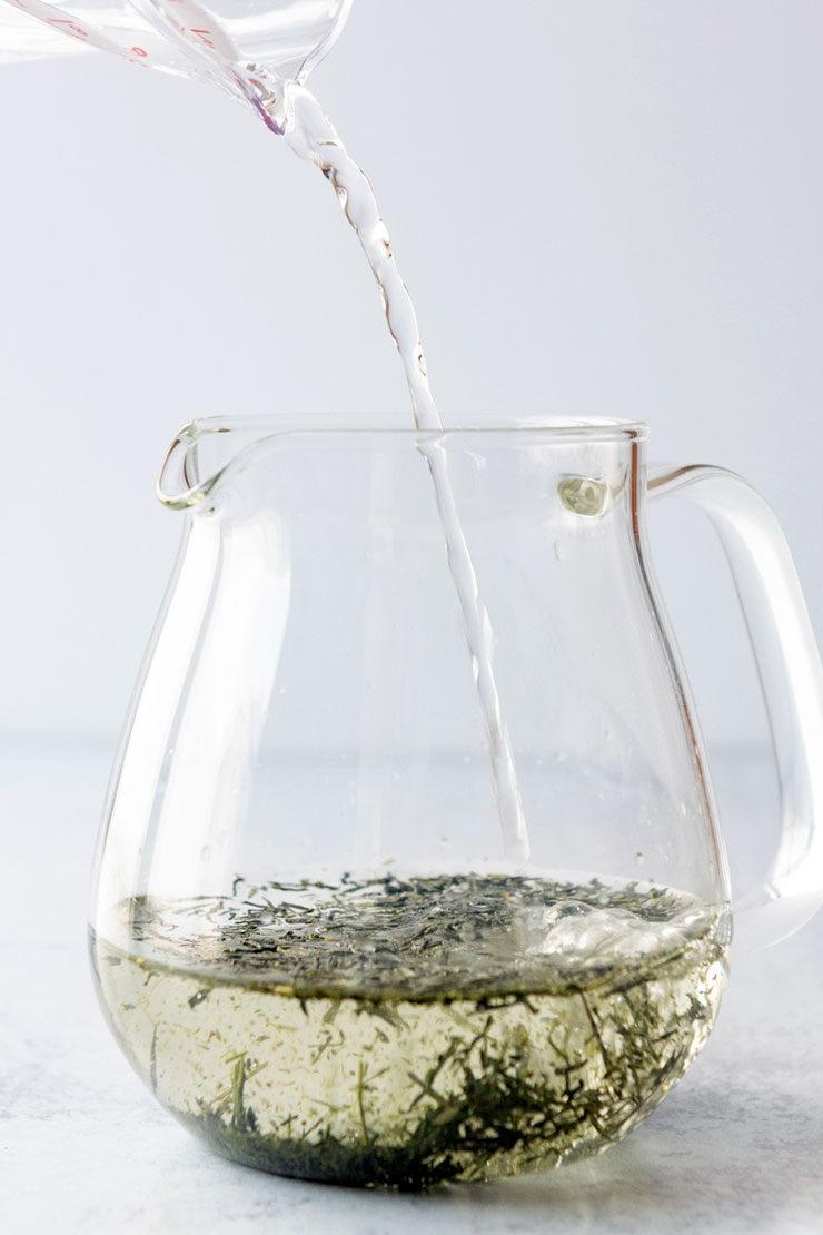 Cold Brewed Sencha Tea