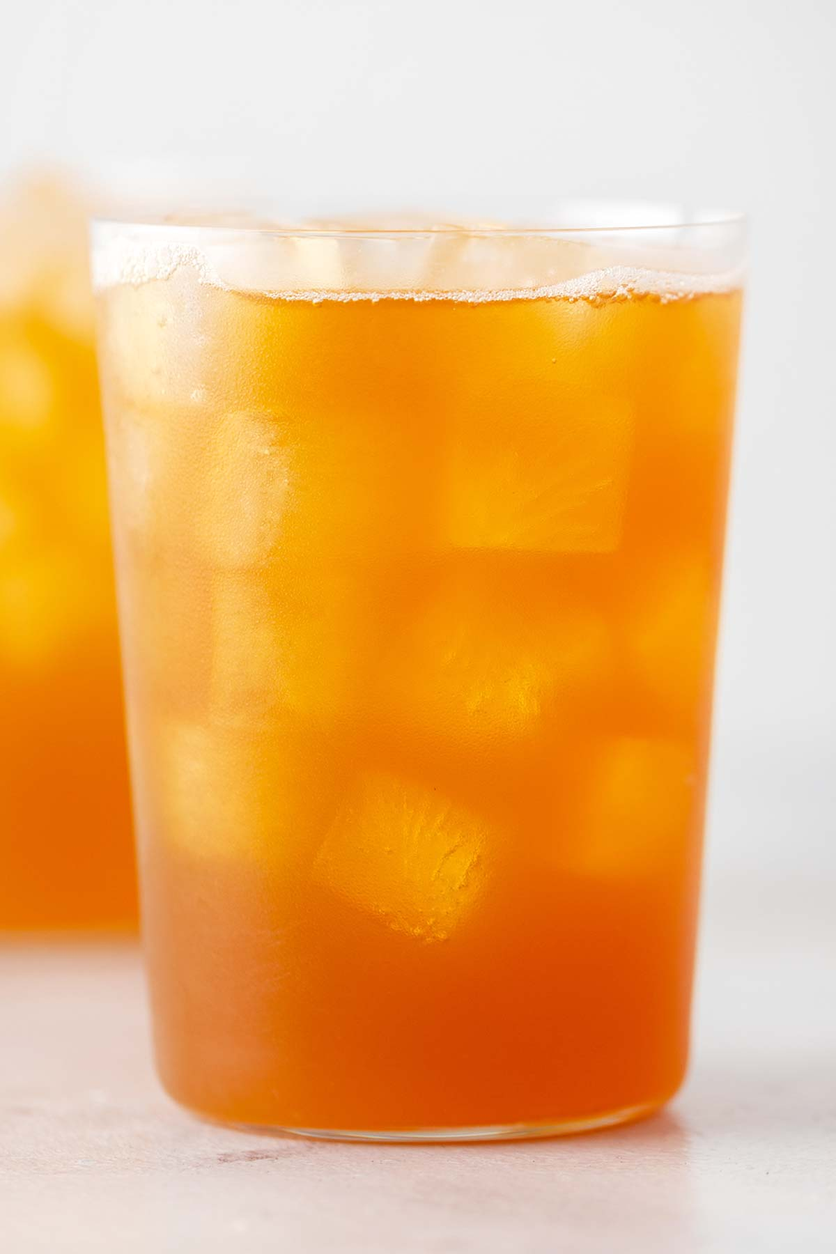 Iced black tea with lemonade recipe.