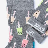 """""""Boba is Life"""" Socks"""