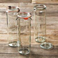 Weck Cylindrical Jars, 20oz, Set of 6