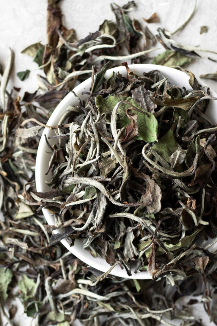 White Peony loose tea.